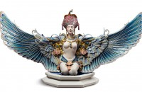 Lladro Winged fantasy Woman Sculpture