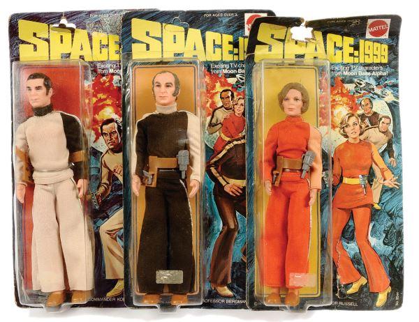 Mattel Space 1999 action figures 9 inch