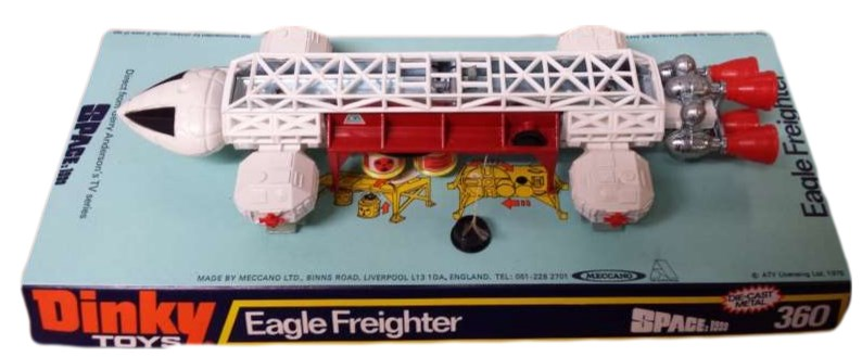 dinky space 1999 eagle freighter 360