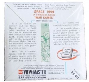 Space 1999 View Master Slides Packet