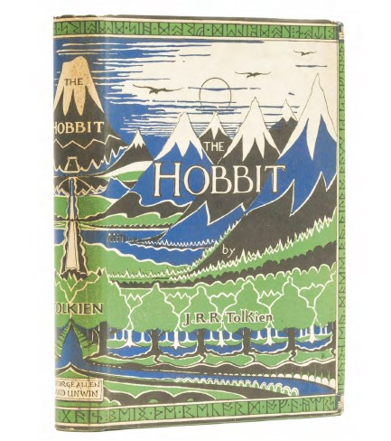 the hobbit first edition tolkien
