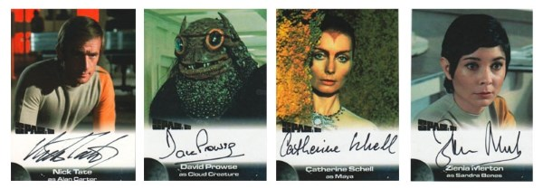 unstoppable space 1999 autograph trading cards