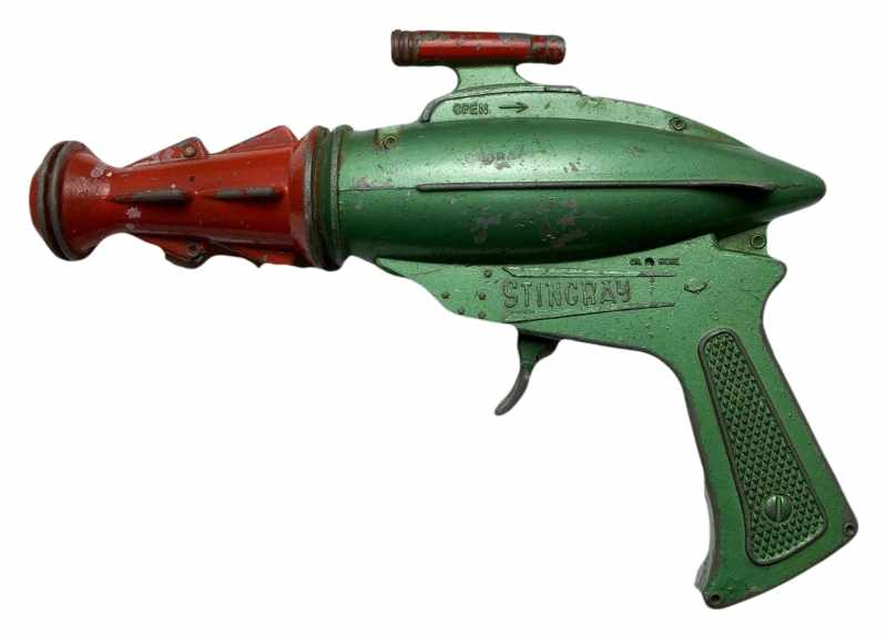 1964 Vintage Space Metal Ray Gun