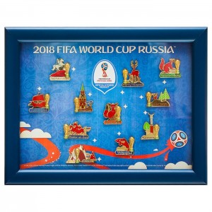 2018 FIFA World Cup Russia Pin Collection Host Cities