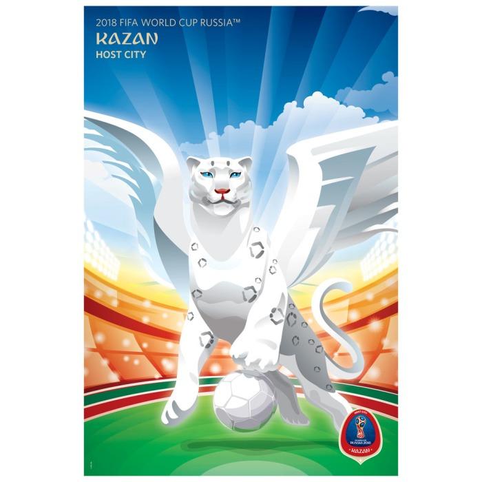 2018 FIFA World Cup Russia™ Poster Host City Kazan