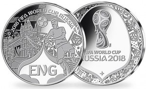 2018 FIFA World Cup Russia England Commemorative