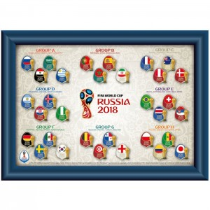 2018 FIFA World Cup Russia Pin Collection Groups