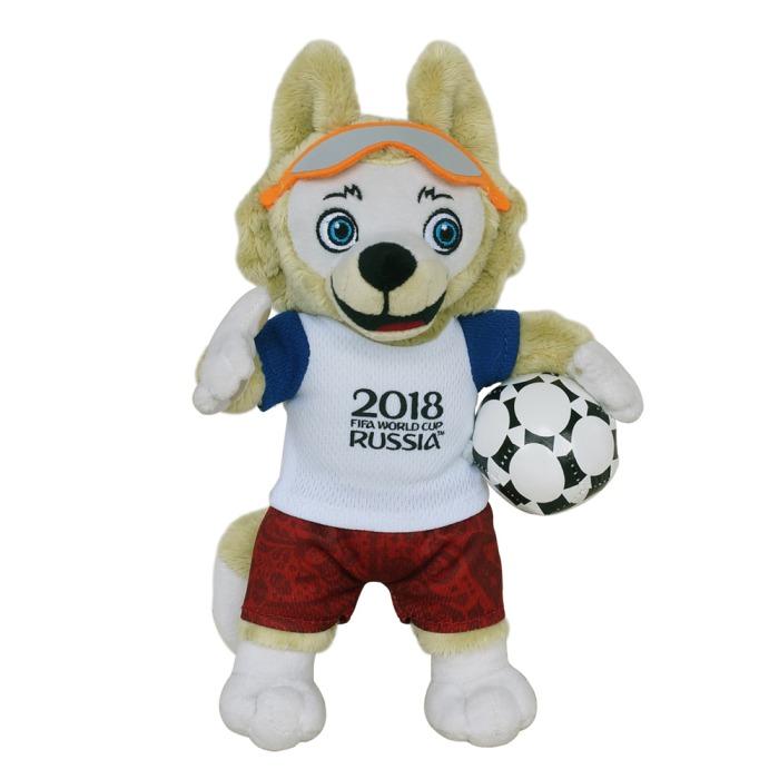 2018 FIFA World Cup Russia Plush Mascot Zabivaka