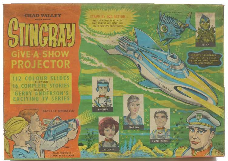 Chad Valley Stingray Give-a-Show projector