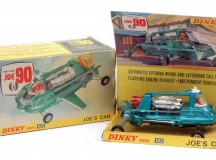 Dinky No 102 Joe 90 - Joes Car - metallic aqua whiteSold for £130 at Vectis, April 2017.