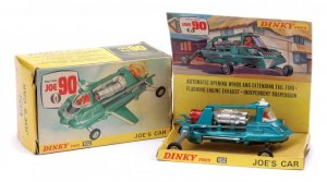 Dinky No 102 Joe 90 - Joes Car - metallic aqua white