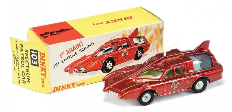 Dinky No.103 Captain Scarlet Spectrum Patrol Car