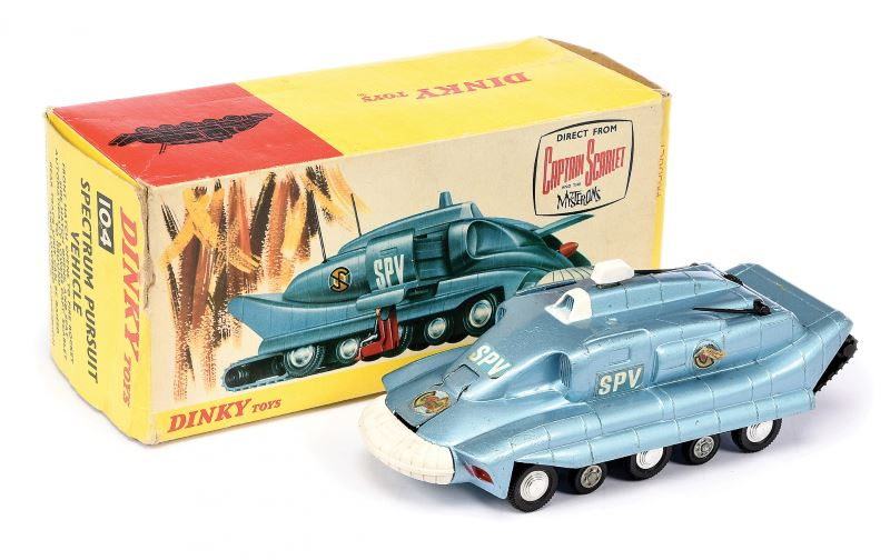 Dinky a boxed No 104 Spectrum Pursuit Vehicle