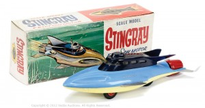 Fairylite Gerry Anderson's Stingray model