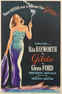 Gilda Columbia 1946 US one sheet poster