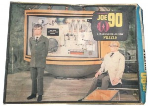 JOE 90 Jigsaw Puzzle c1968 Joe 90