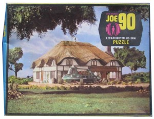 JOE 90 Jigsaw Puzzle c1968 Joes House Waddington
