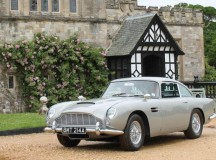 James Bond's Goldeneye Aston Martin DB5 at Bonhams