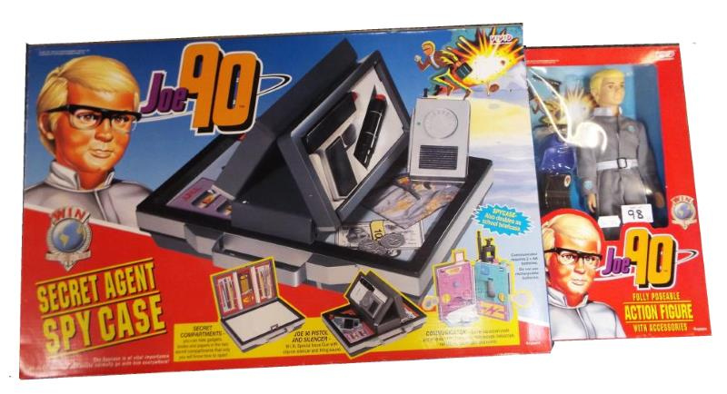 Joe 90 Secret Agent Spy Case by Vivid Imaginations