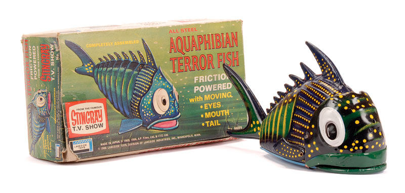 Lakeside Toys Stingray All Steel Aquaphibian Titan Terror Fish