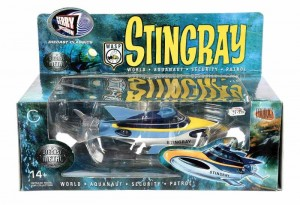 Product Enterprise Gerry Anderson Stingray World Auqanaut Security