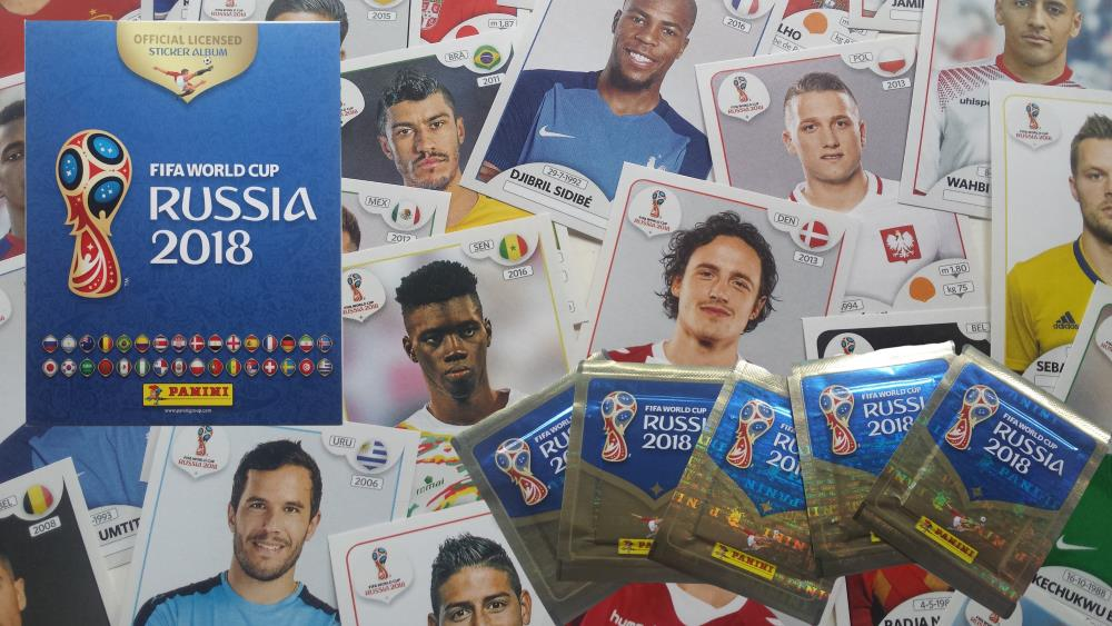 Russia 2018 World Cup Panini Stickers