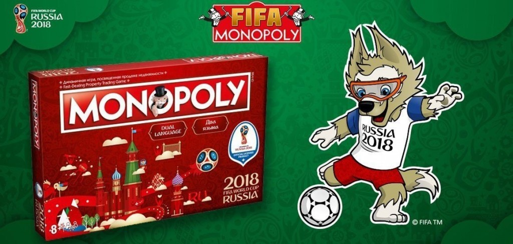 Winning Moves FIFA World Cup Russia 2018 Monopoly