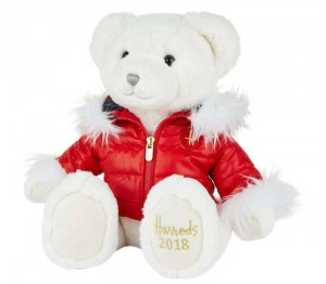 harrods 2018 christmas bear oliver