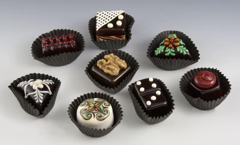 hulet chocolate display