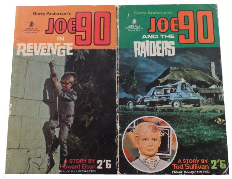 joe 90 paperbacks revenge and raiders