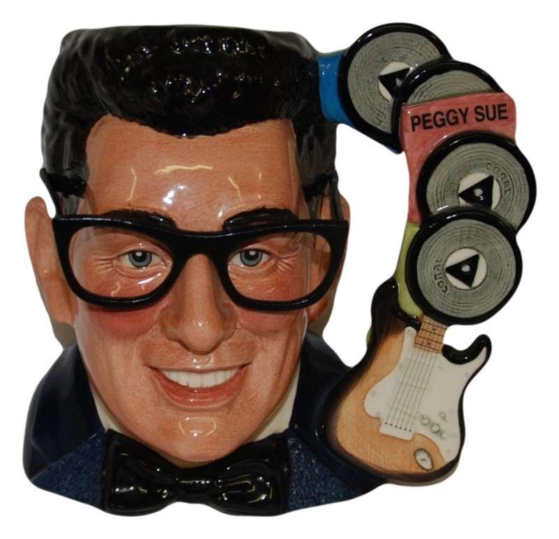 Buddy Holly Royal Doulton Character Jug