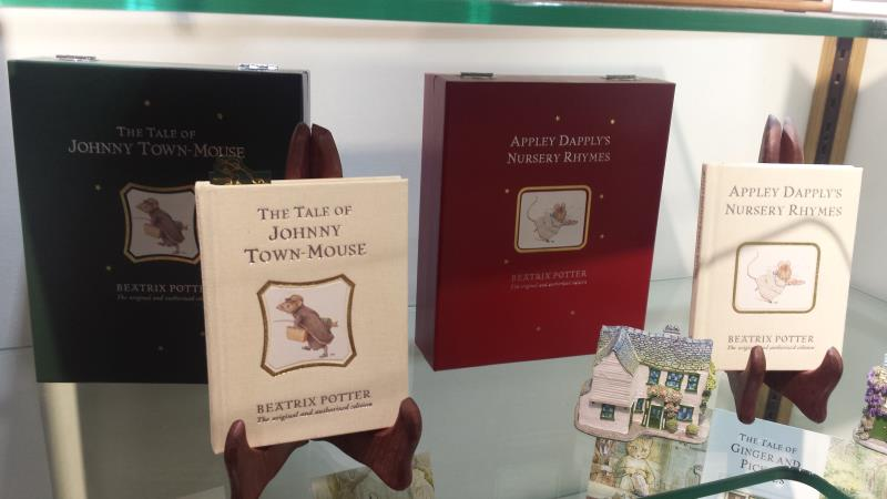 The Tale of Johnny Town-Mouse centenary edition leather boxed book