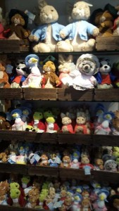 beatrix potter plush toys