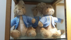 large peter rabbit plush toys