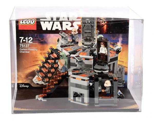 Lego Point of Sale Store Display consisting of Lego Star Wars set number 75137