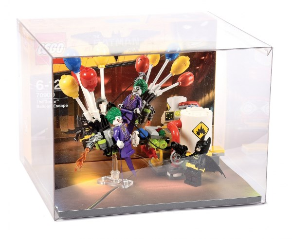 Lego Point of Sale Store Display consisting of Lego The Batman Movie set number 70900