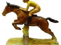 Beswick Girl on Jumping Horse No 939