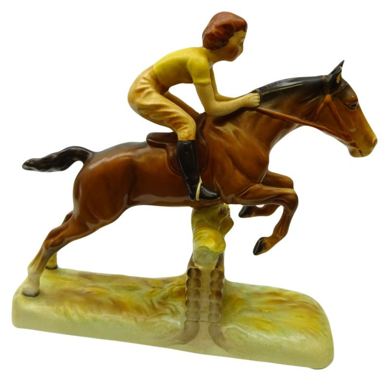 Beswick Girl on Jumping Horse No 939 right