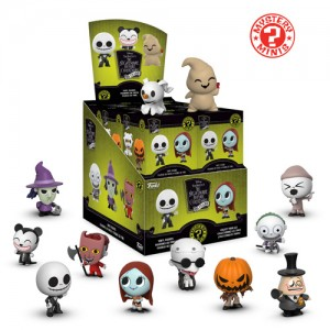Funko Nightmare Before Christmas 25th Mystery Minis