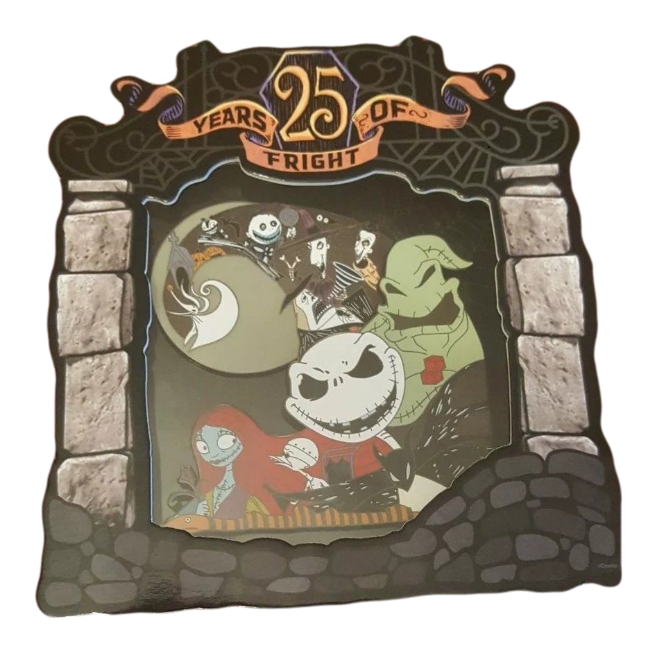 Nightmare Before Christmas 25th Anniversary Collectibles & Toys