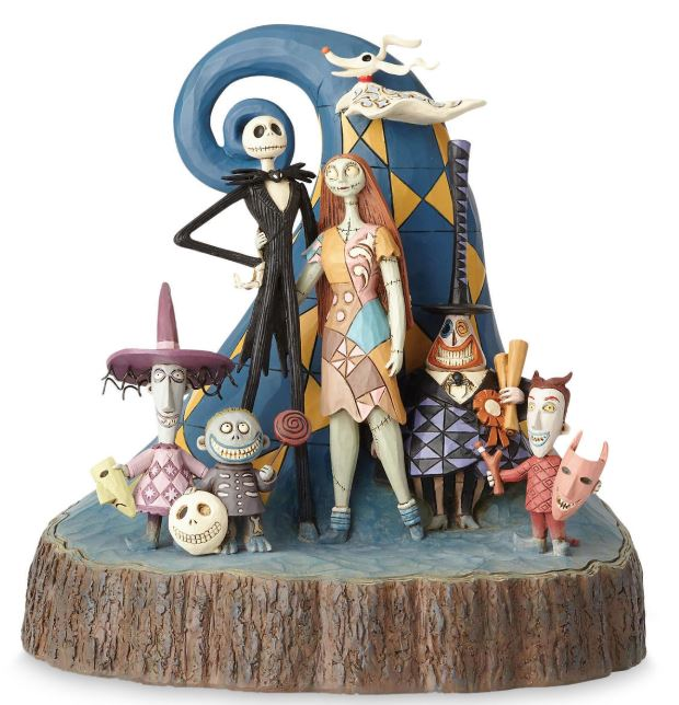 Tim Burtons The Nightmare Before Christmas 25th Anniversary Figure by Jim Shore