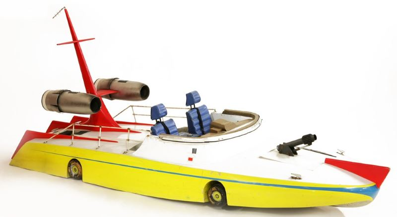 gerry anderson the investigator boat