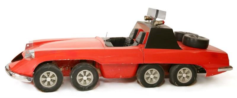 gerry anderson the investigator car