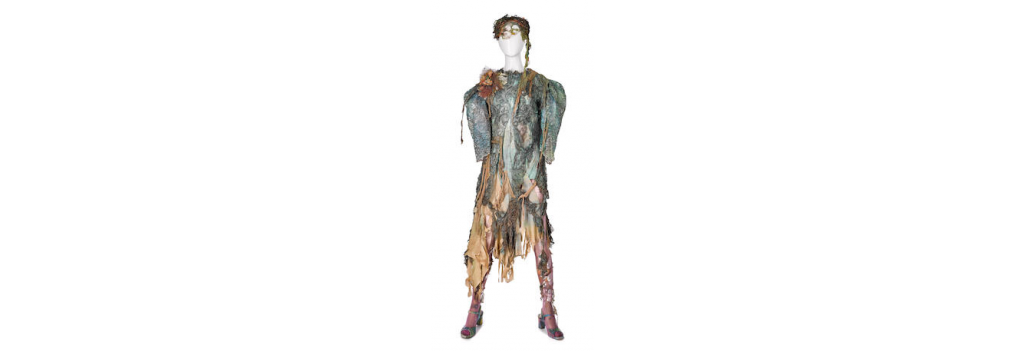 A Cynthia Garris zombie costume from Michael Jacksons Thriller