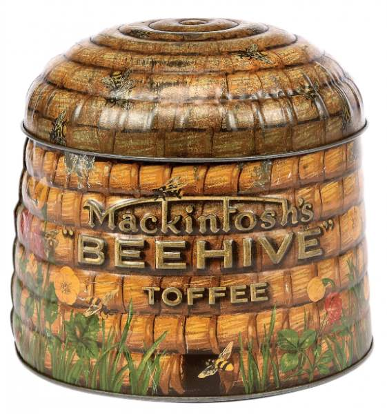 Mackintoshs Toffee Company Beehive tin