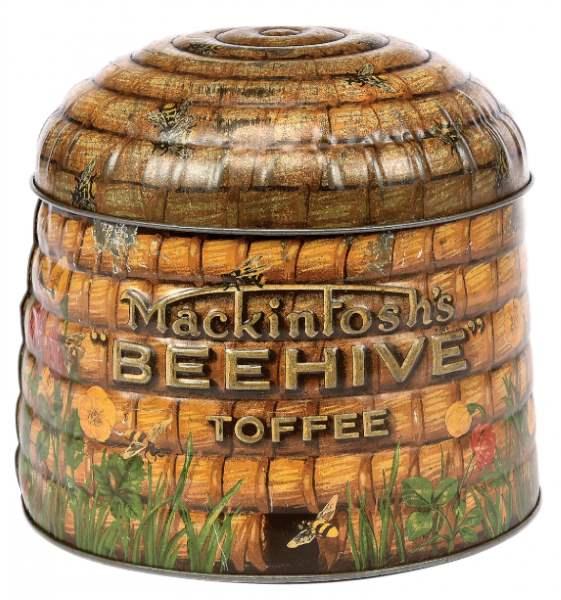 Mackintoshs Toffee Company Beehive tin