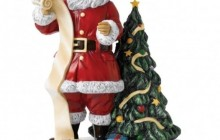 Royal Doulton Father Christmas 2018 Santa's Christmas List
