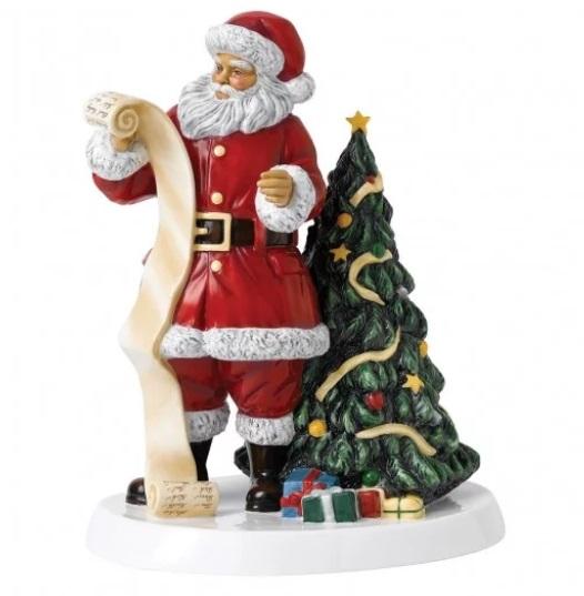 Royal Doulton Father Christmas 2018 Santas Christmas List
