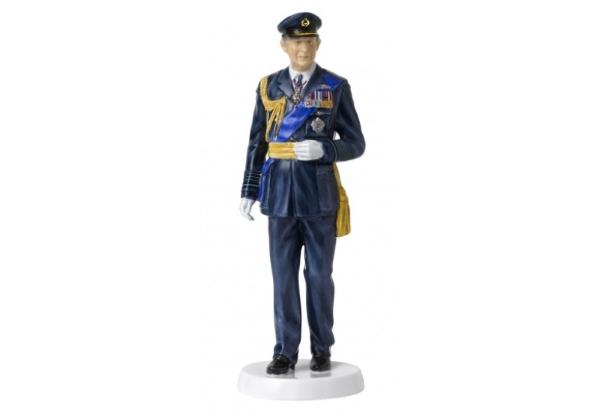 Royal Doulton Prince Charles 70th Birthday Figurine
