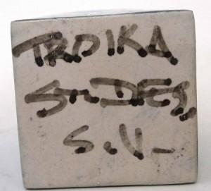 Troika Sylvia Vallence SV mark